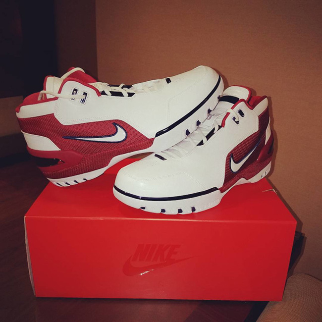 Nike Air Zoom Generation Retro First Game Release Date