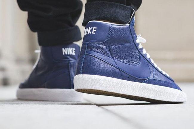 huge discount a8fc6 3c4e7 Nike Blazer Mid Premium Binary Blue