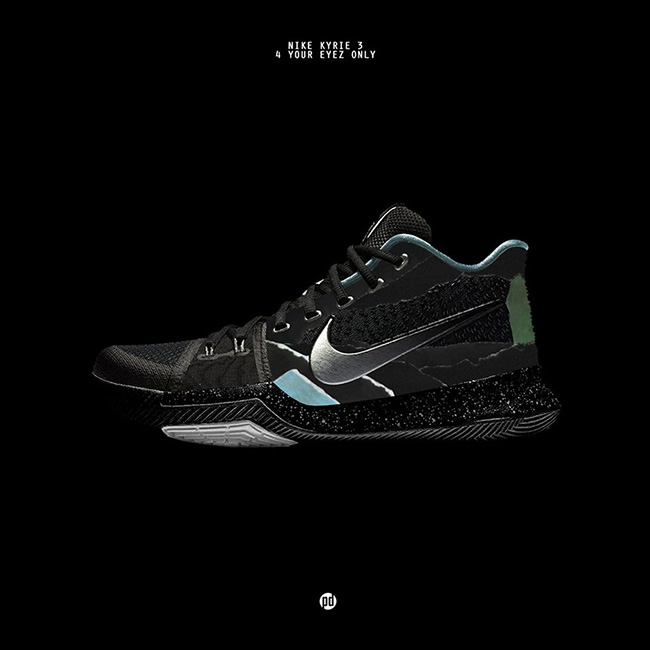 Nike Kyrie 3 J.Cole 4 Your Eyez Only