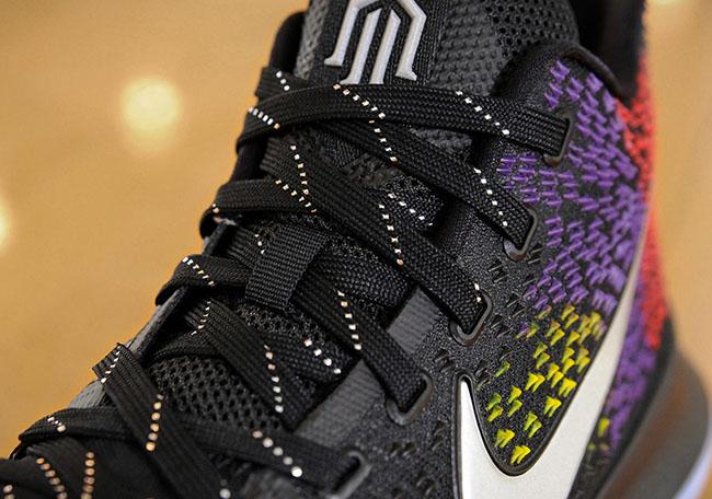 Nike Kyrie 3 PE Black Yellow Purple Red