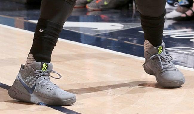 Nike Kyrie 3 Wolf Grey Volt PE