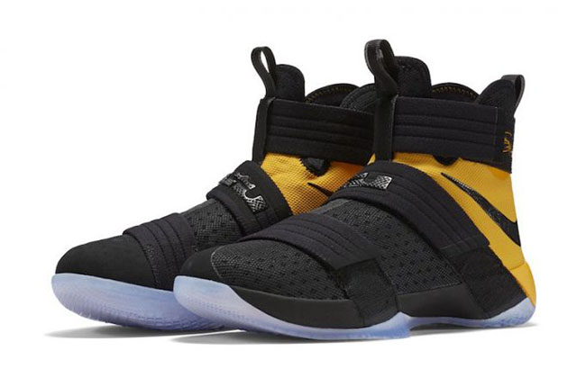 Nike LeBron Soldier 10 SFG Yellow Black