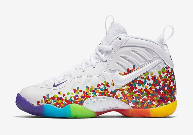Nike Foamposite Black Fruity Pebbles