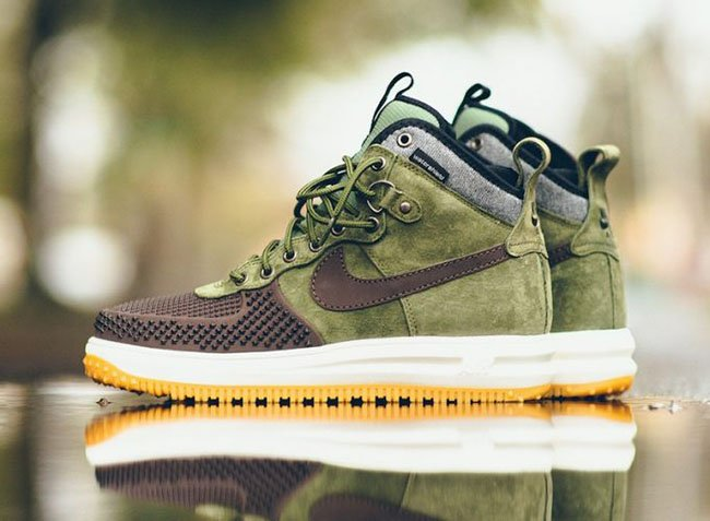 Nike Lunar Force 1 Duckboot Brown Olive Gum