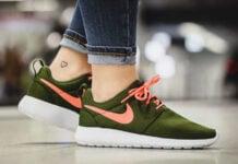Nike Roshe One Legion Green Lava Glow