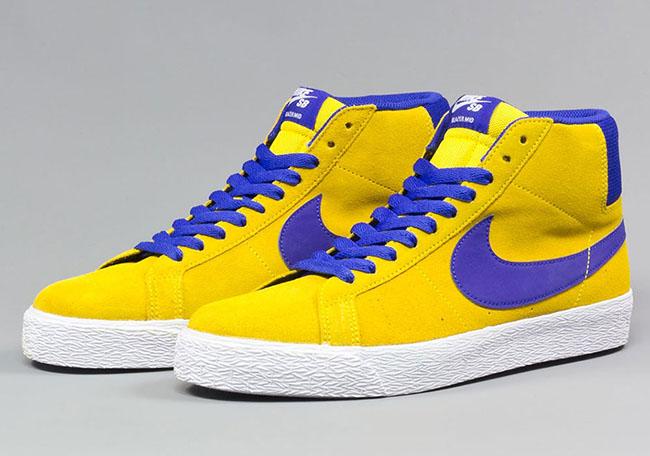 Nike SB Blazer Mid Tour Yellow