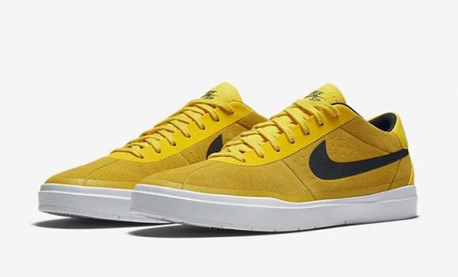 Nike SB Bruin Hyperfeel Tour Yellow 831756 701 Release
