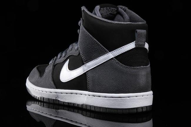 Nike SB Dunk High Pro Dark Grey Black White