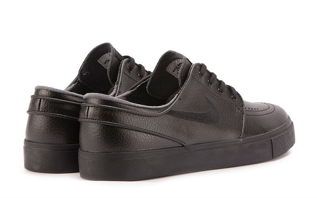Nike SB Zoom Stefan Janoski Leather Triple Black