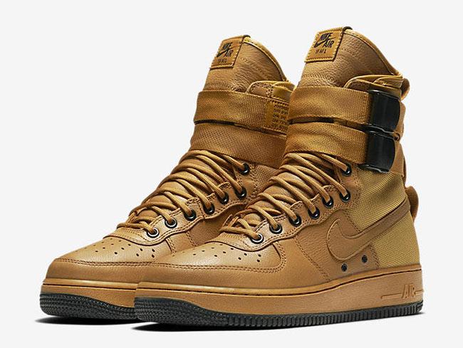 Nike SF-AF1 Wheat Release Date
