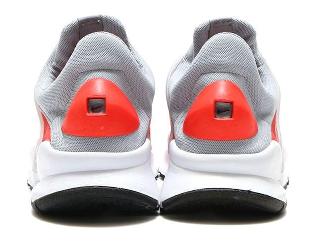 sports shoes 9ab2c 71a26 nike sock dart waterproof max orange