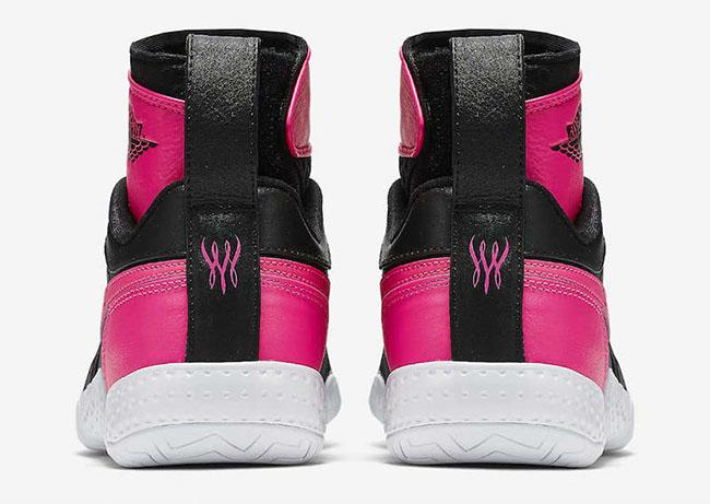 NikeCourt Flare AJ1 Black Pink