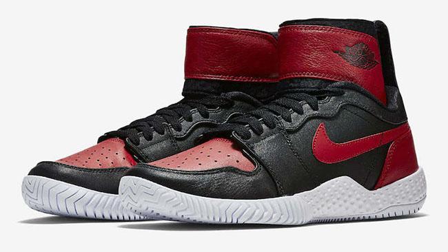 NikeCourt Flare AJ1 Black Red