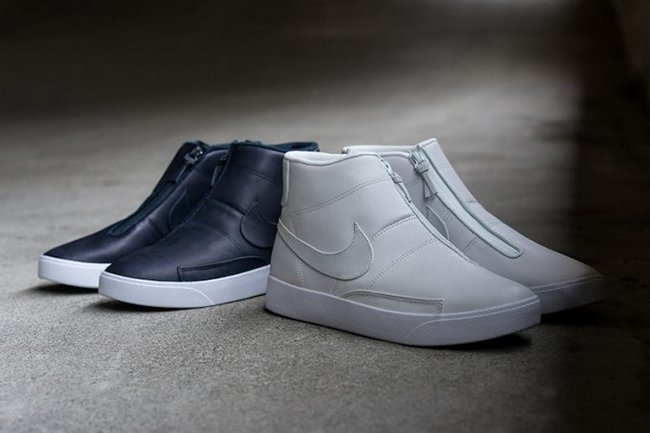 new product 565a4 4e96d NikeLab Blazer Advanced White Obsidian