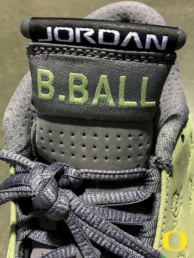 Oregon Ducks Air Jordan 14 Basketball PE