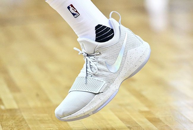paul george shoes kids white