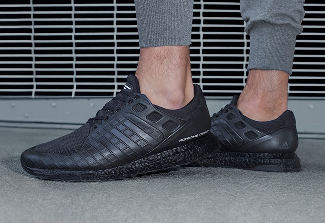 adidas ultra boost leather triple black