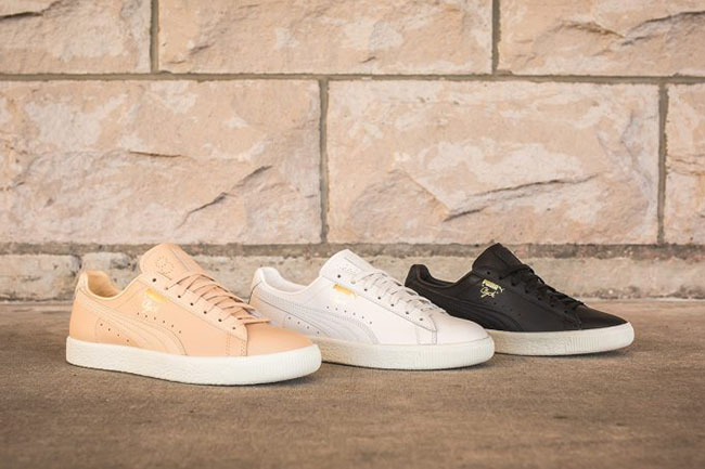 Puma Clyde Natural Pack
