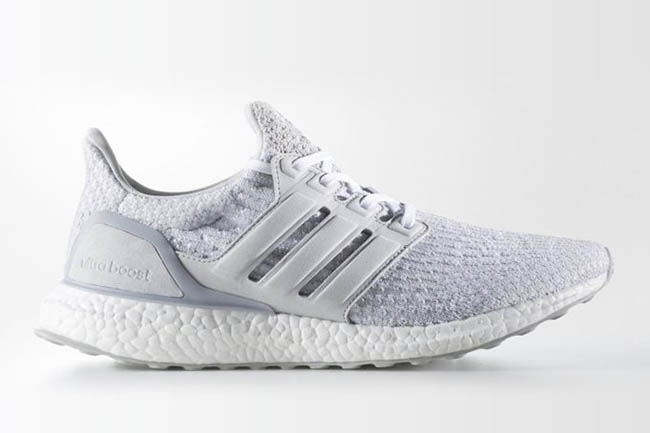 5e1284fa86007 Reigning Champ adidas Ultra Boost White Grey BW1116