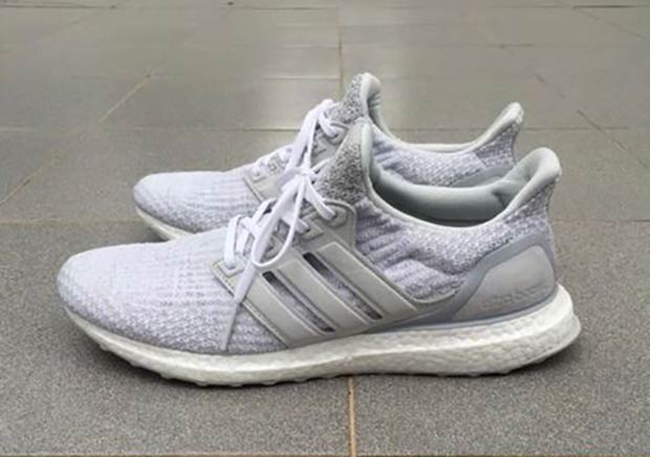 Reigning Champ adidas Ultra Boost White Grey BW1116
