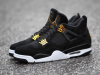 Royalty Air Jordan 4 Black Gold