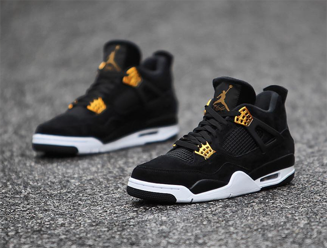 jordan iv black gold
