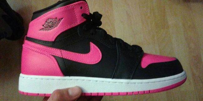 Serena Williams Air Jordan 1 Pink Black