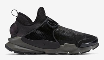 Stone Island Nike Sock Dart Mid Black