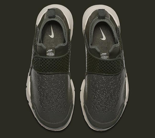 Stone Island x Nike Sock Dart Sequoia 910090-300