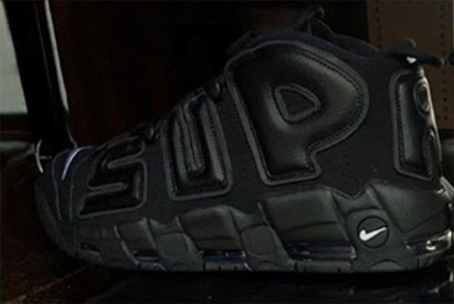 brand new dad8f faaba Supreme Nike Air More Uptempo 3M Reflective
