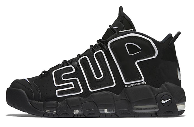 Supreme Nike Air More Uptempo Suptempo