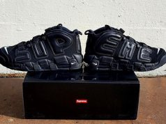 Supreme x Nike Air More Uptempo Triple Black