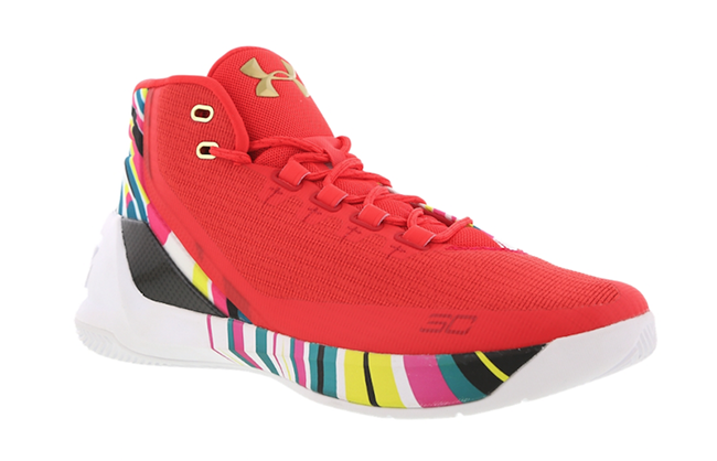Under Armour Curry 3 CNY Chinese New Year Release Date