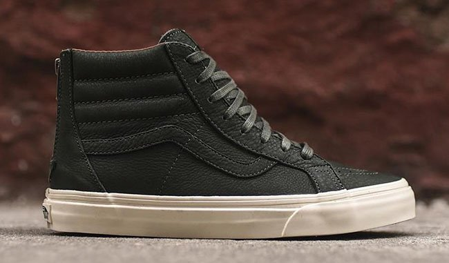 Vans SK8-Hi Reissue Zip DX Premium Forest Green