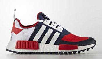 White Mountaineering adidas NMD Trail Red