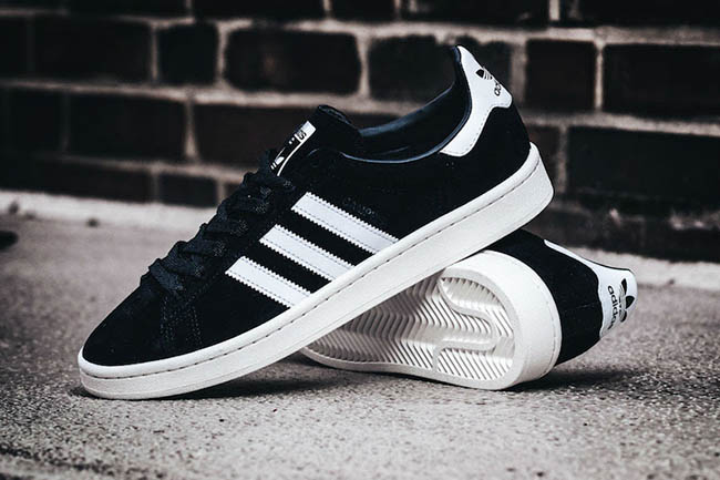 adidas Campus 80s Black White BB0080  3eb60ea43