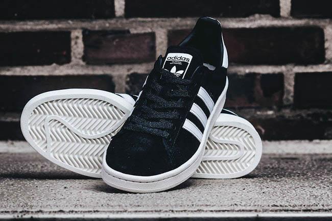 tristeza Empresario emocional  adidas Campus 80s Black White BB0080 | SneakerFiles