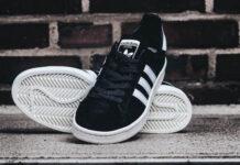 adidas Campus 80s Black White