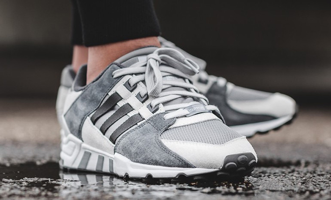 Adidas Eqt Support 93 Primeknit 'All White'