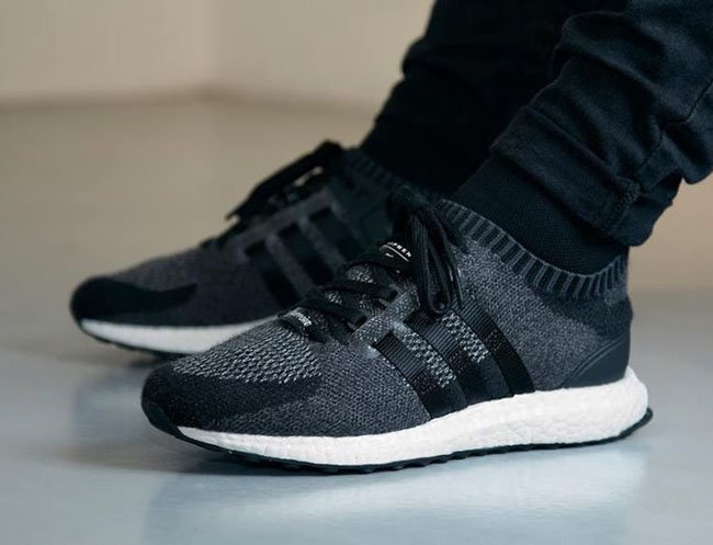 adidas EQT Support Ultra Primeknit Black Wool | SneakerFiles