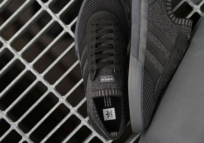 adidas Lucas Premiere Primeknit Triple Black
