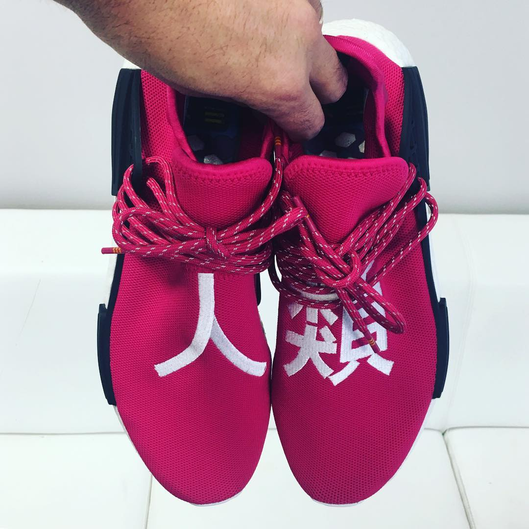 low priced dd65b ca3d4 adidas NMD Human Race Shock Pink BB0621 Release Date ...