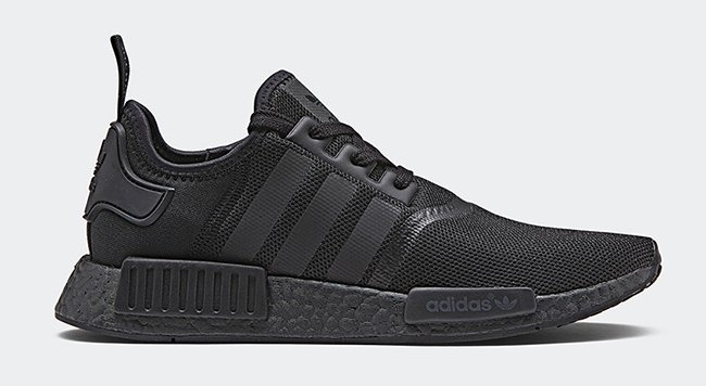 adidas NMD R1 Monochrome Black Pack