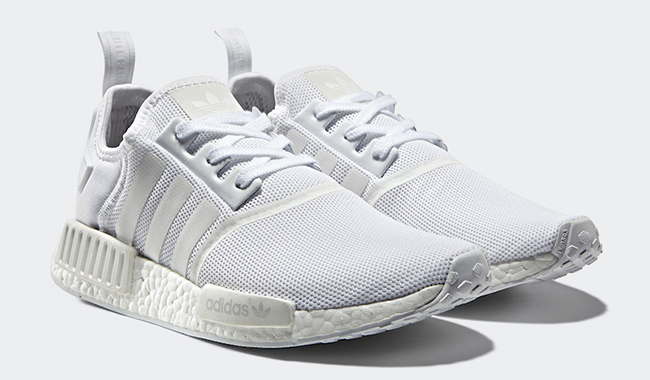 adidas NMD R1 Monochrome White Pack
