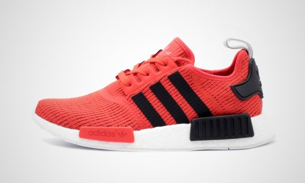 Adidas Nmd Red With Black