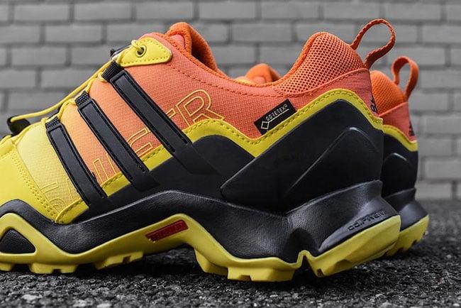 adidas Outdoor Terrex Swift R GTX Bright Yellow Orange