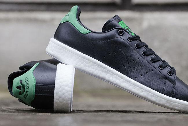huge discount 56d43 d809b adidas stan smith black green