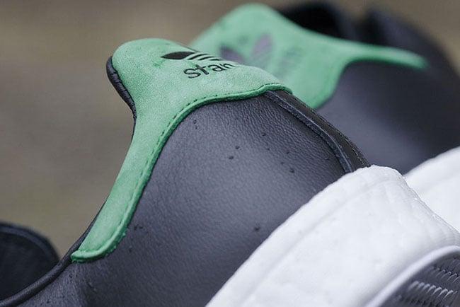 adidas Stan Smith Boost Core Black Green