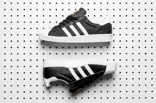 adidas Superstar Boost OG Black White