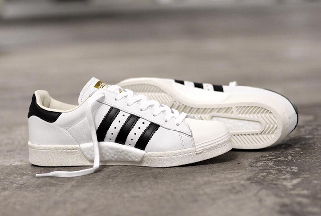 adidas Superstar Boost OG White Black
